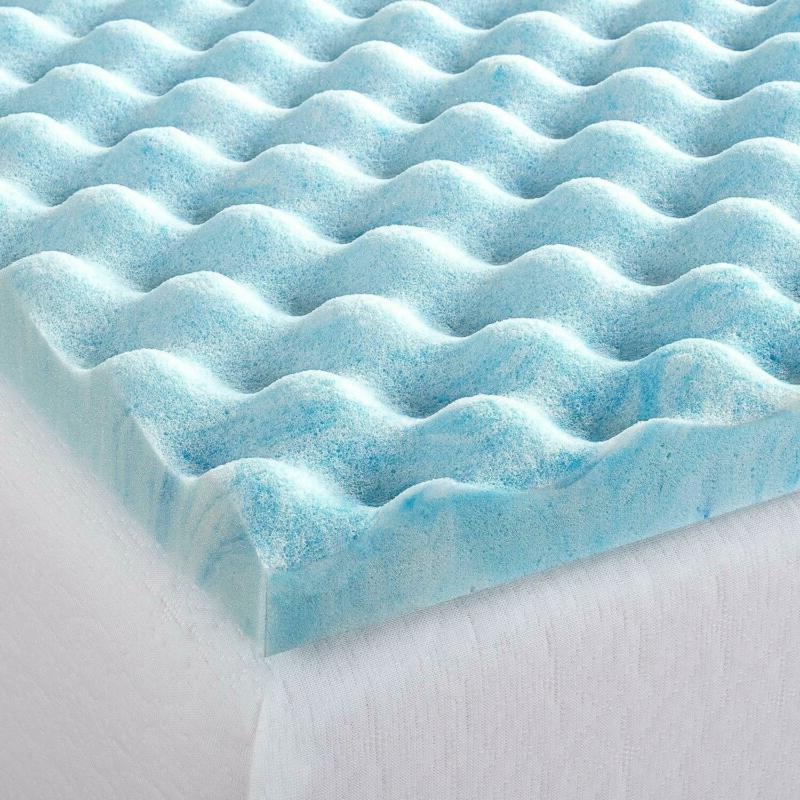 Zinus 1.5 Inch Gel Foam Flow Topper,