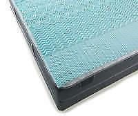 "Stratopedic 1.5"" Queen Gel Memory Foam Mattress Topper New F"