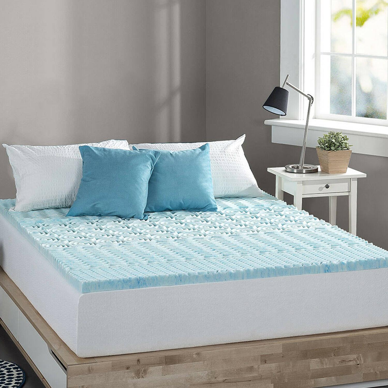 1 inch memory foam mattress bed topper