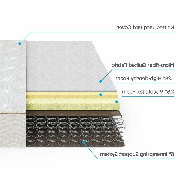 """10"""" Box Full Foam Mattress Bed"""