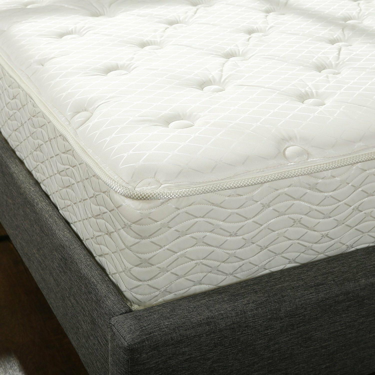 "10"" Twin Box Full Spring Foam Set Bed Frame Air"
