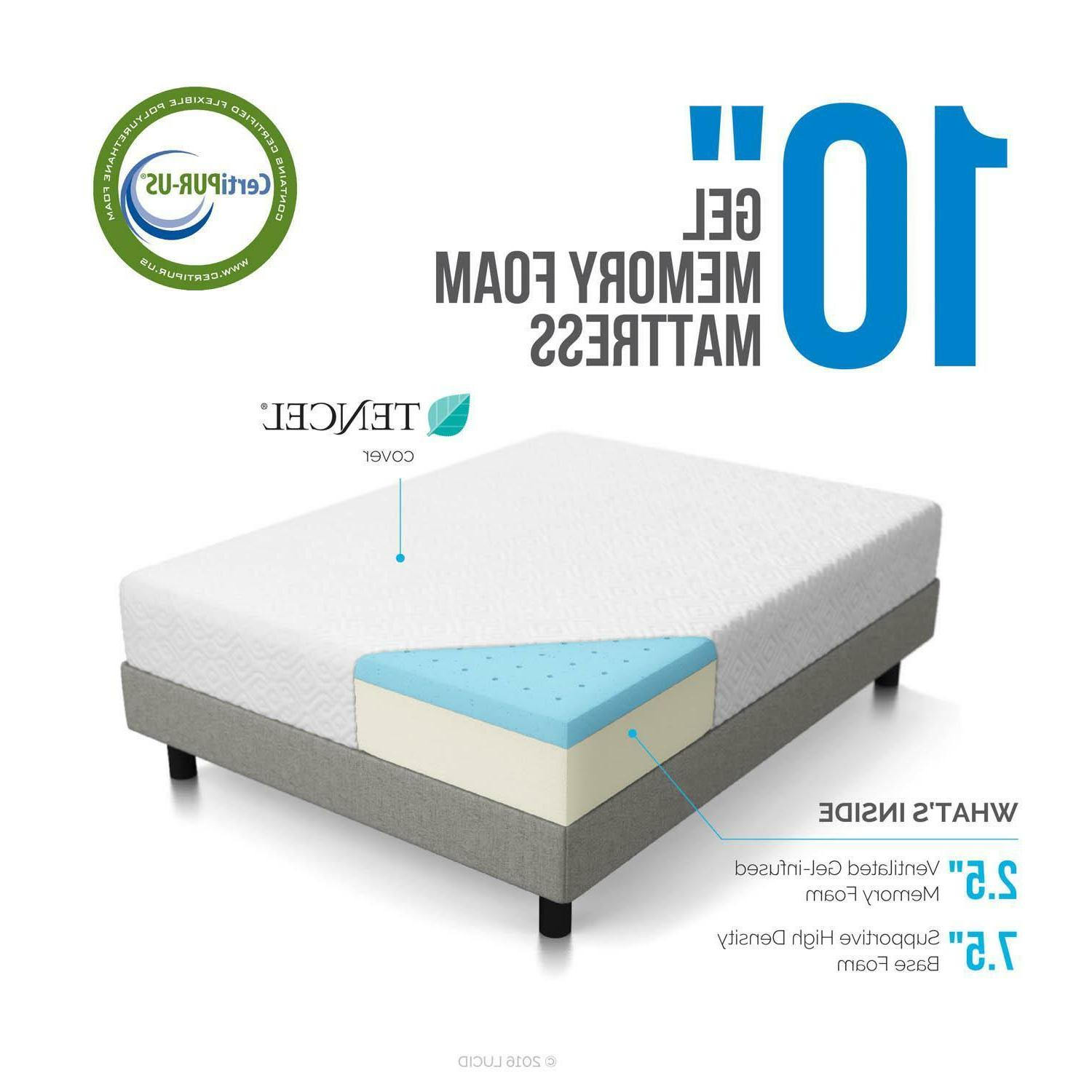 Memory Foam - Medium Full