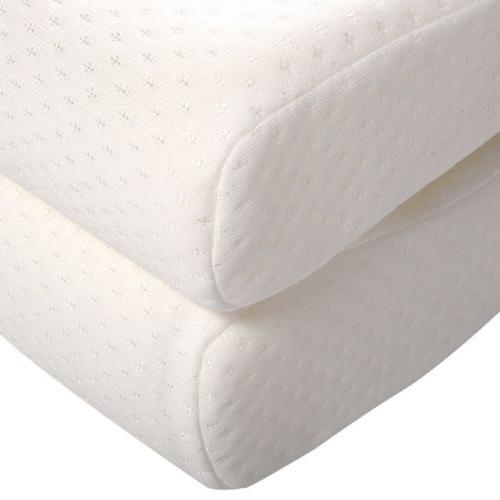 """10"""" Foam Mattress Pad Bed Topper Pillows"""