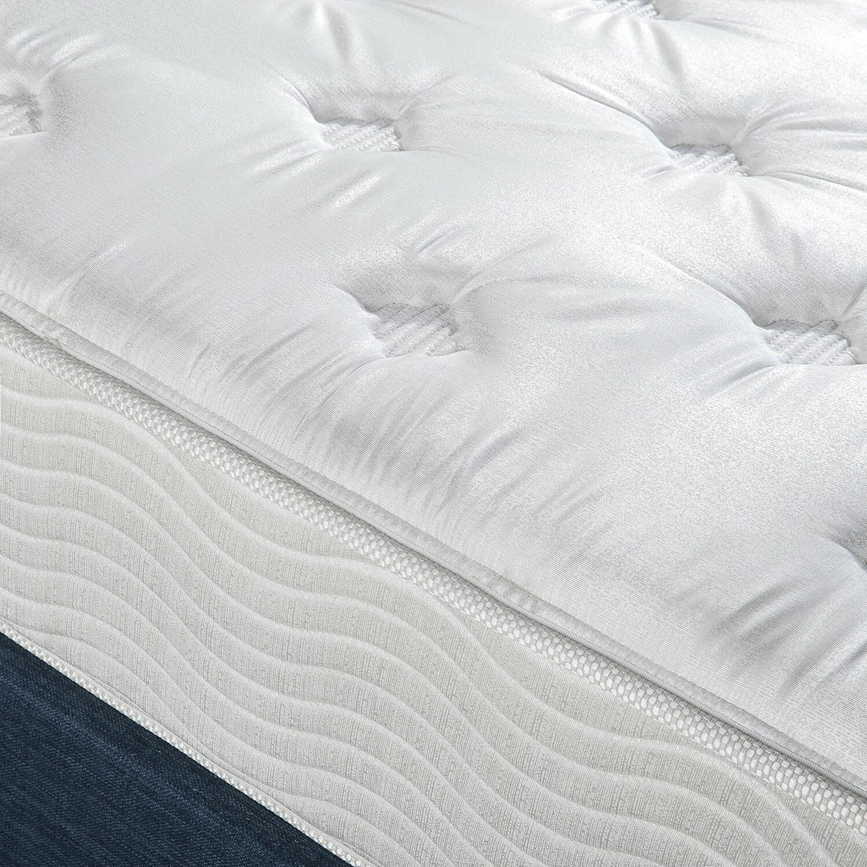 10 Spring Support Mattress Tea Comfort Bed Queen