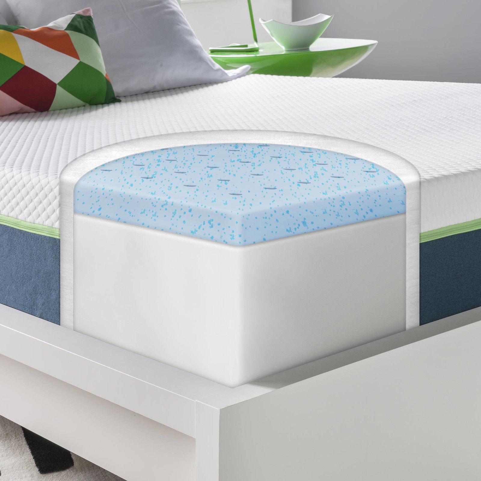 10 Deluxe Foam Bed Topper Twin Size