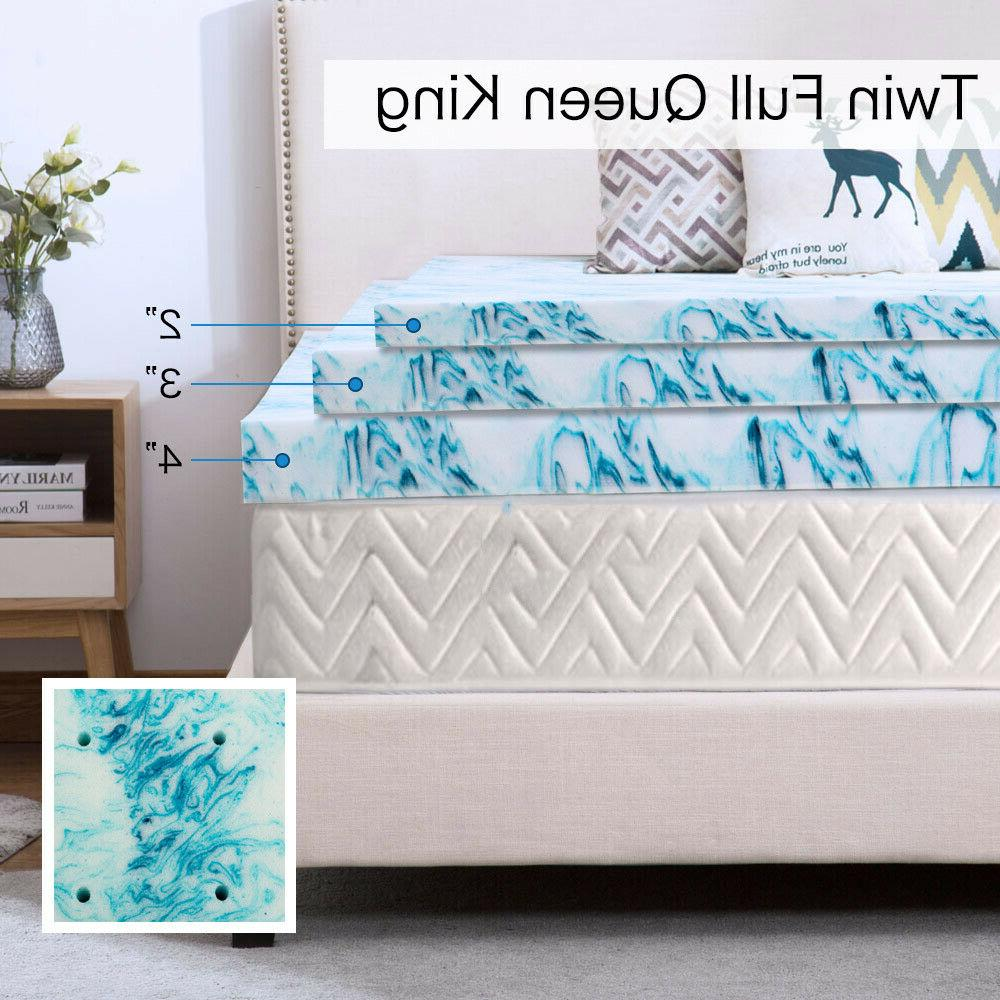 Mattress Topper 2 4 Foam Lavender New Size