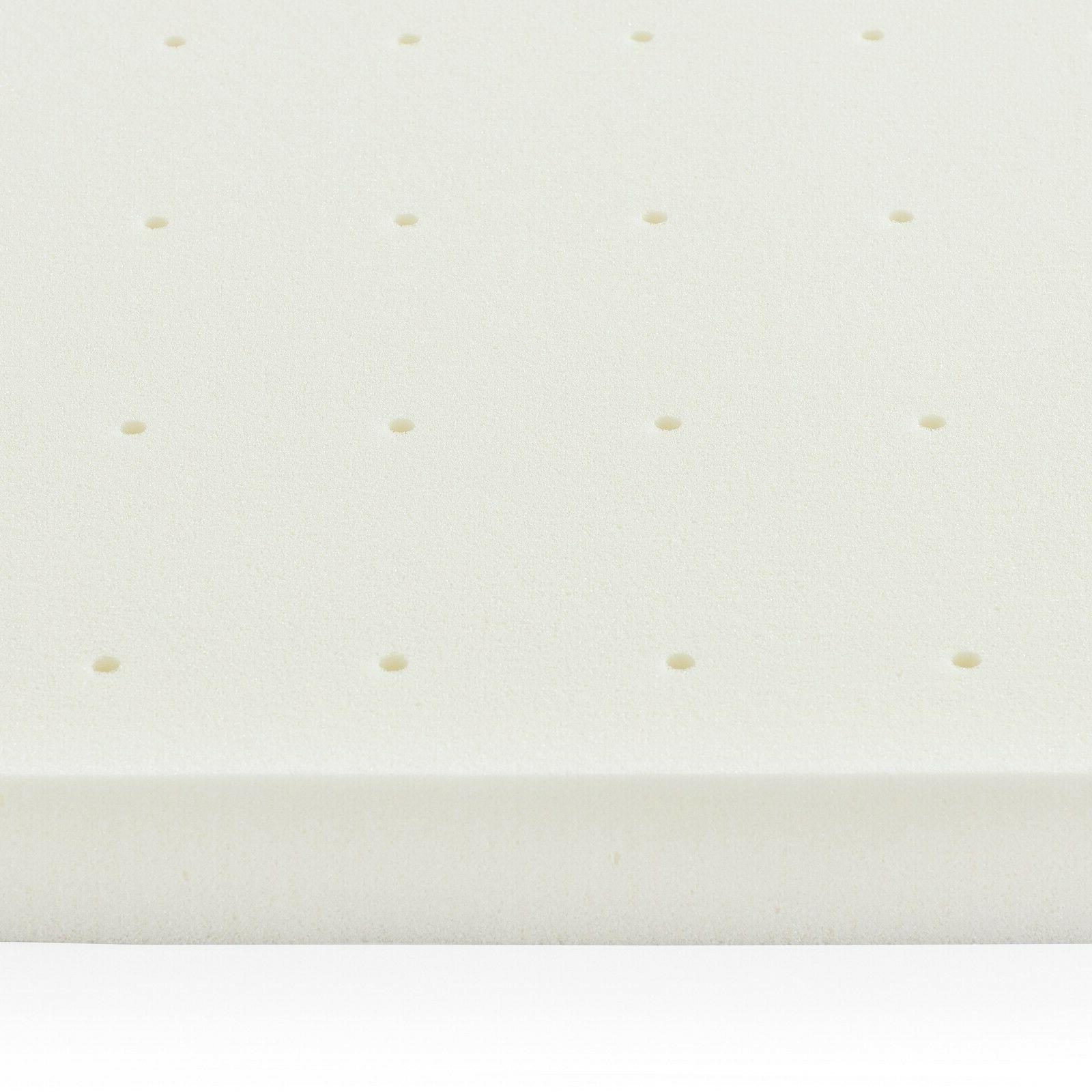 LUCID 2, 3, 4 inch Memory Foam Mattress Twin Full Queen