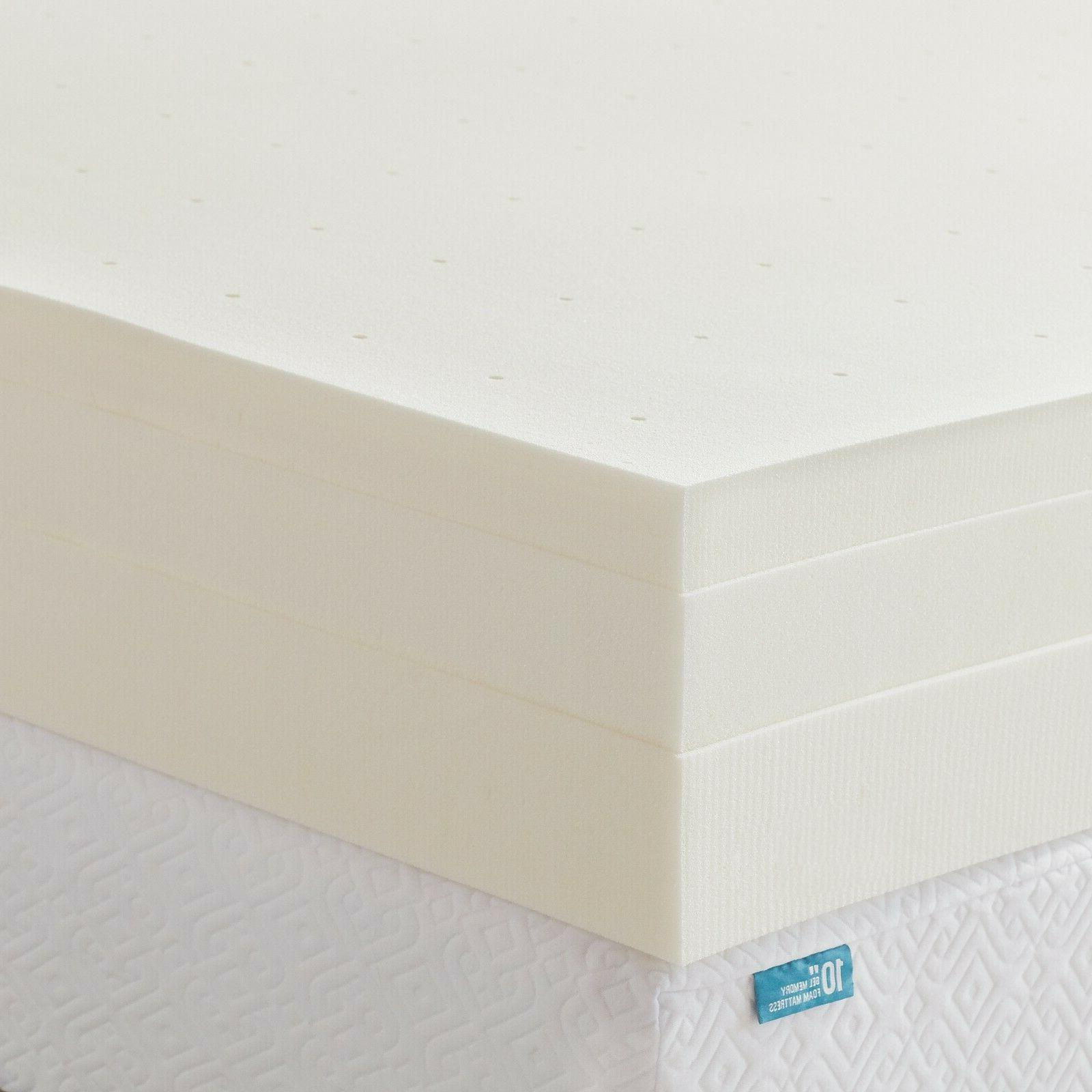 LUCID 3, 4 inch Foam Twin Full Queen