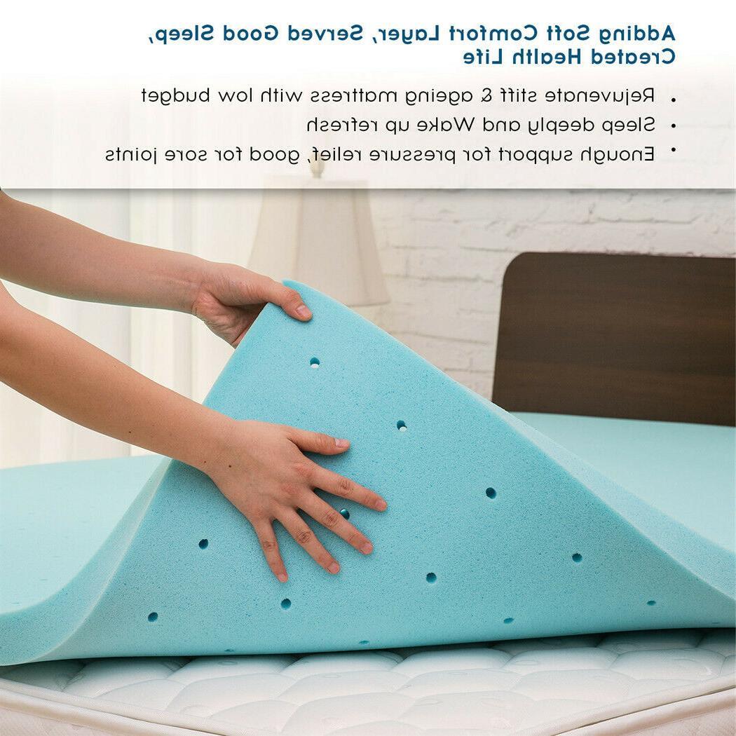 2 3 inch memory foam mattress topper