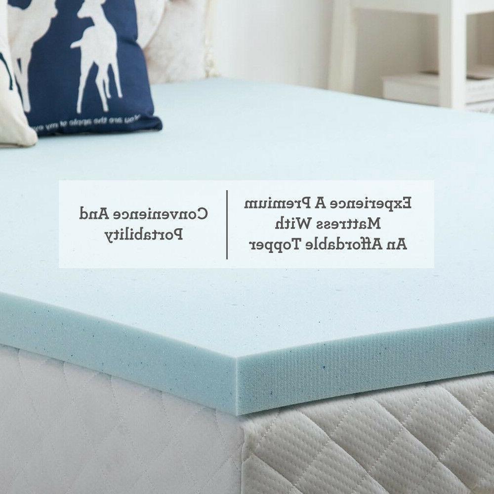 2.5''/3'' Foam Topper Bed Full King Comfort