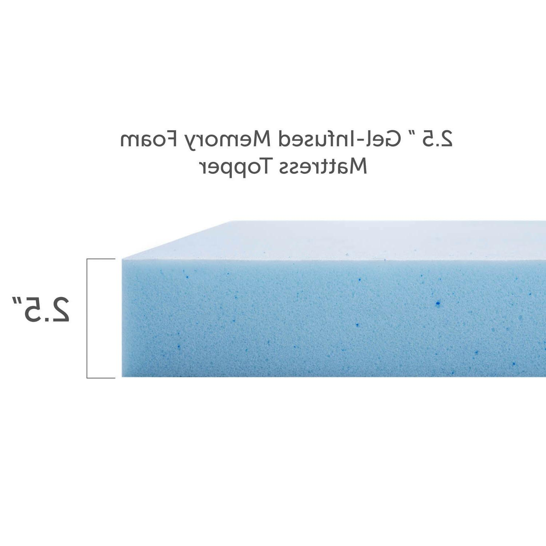 2.5 Memory Foam Mattress - and