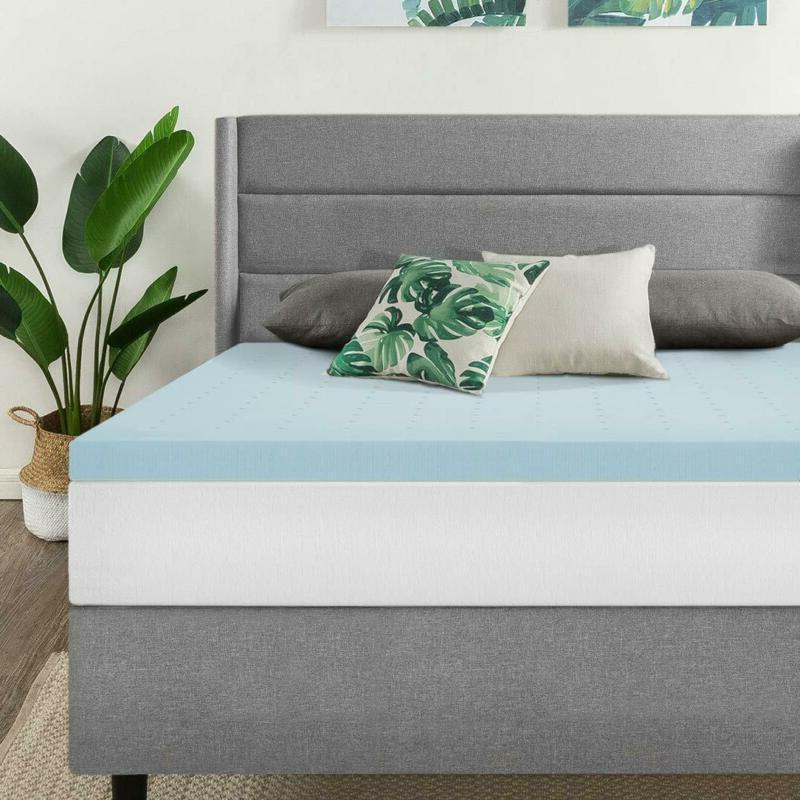 2 5 inch gel memory foam mattress