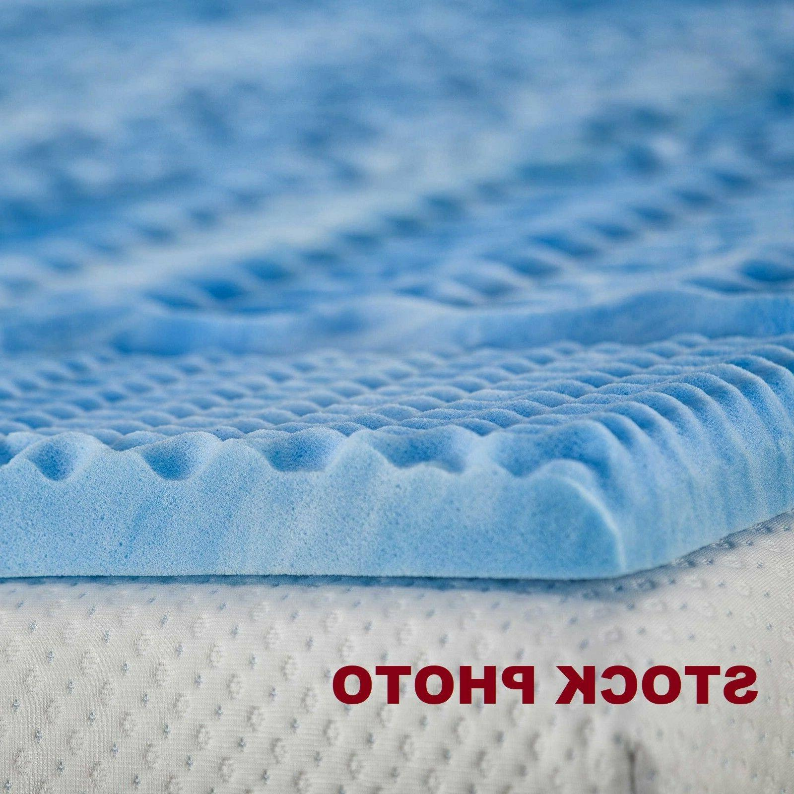 2 5 memory foam with gel convoluted