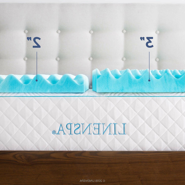 Linenspa and Inch Foam Mattress Topper -