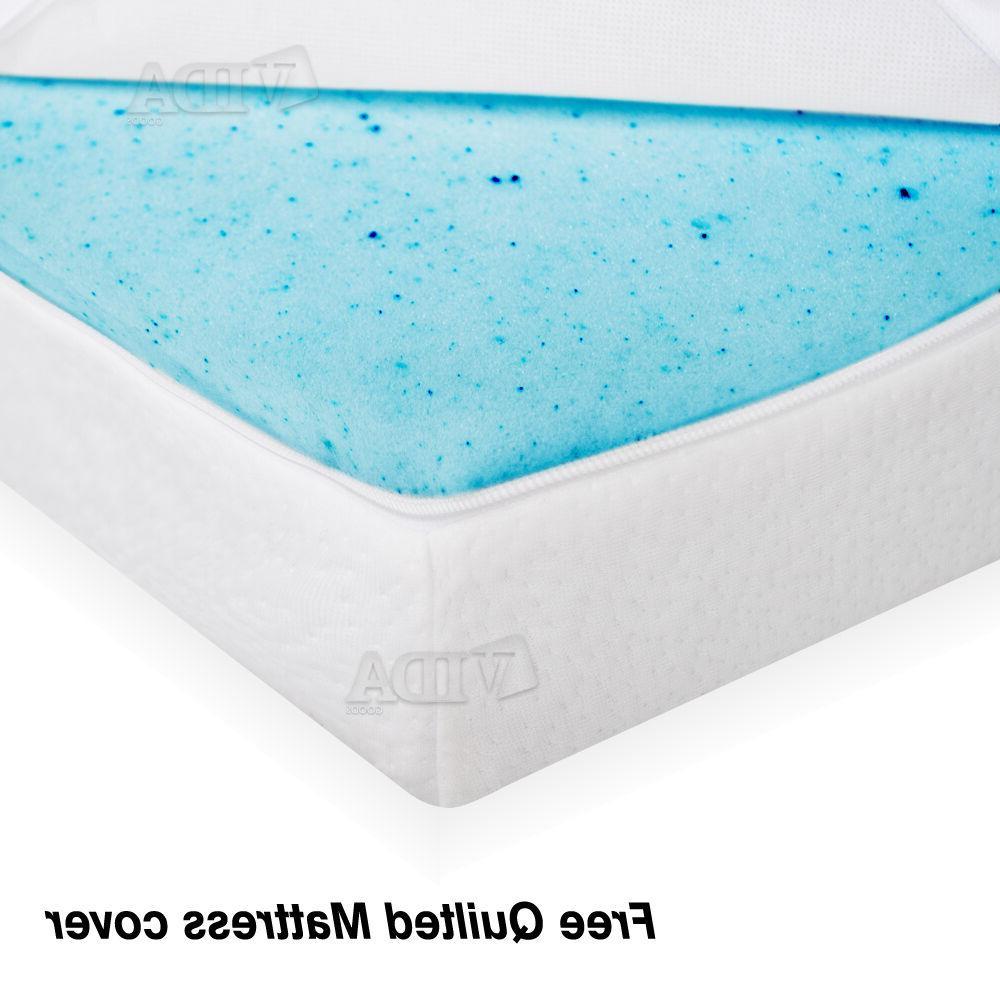 "2"" Foam Mattress Certipur-US +Free Cover"