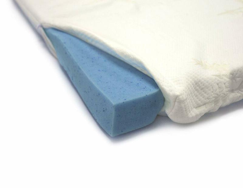 2 gel infused memory foam mattress topper