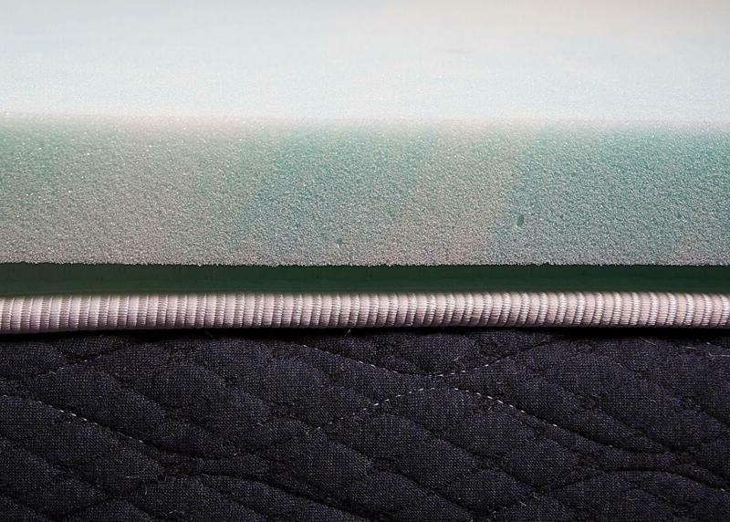 Swirl Foam Made In Blue