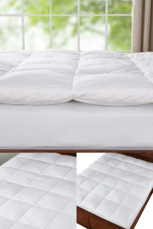 2 in king down mattress topper features