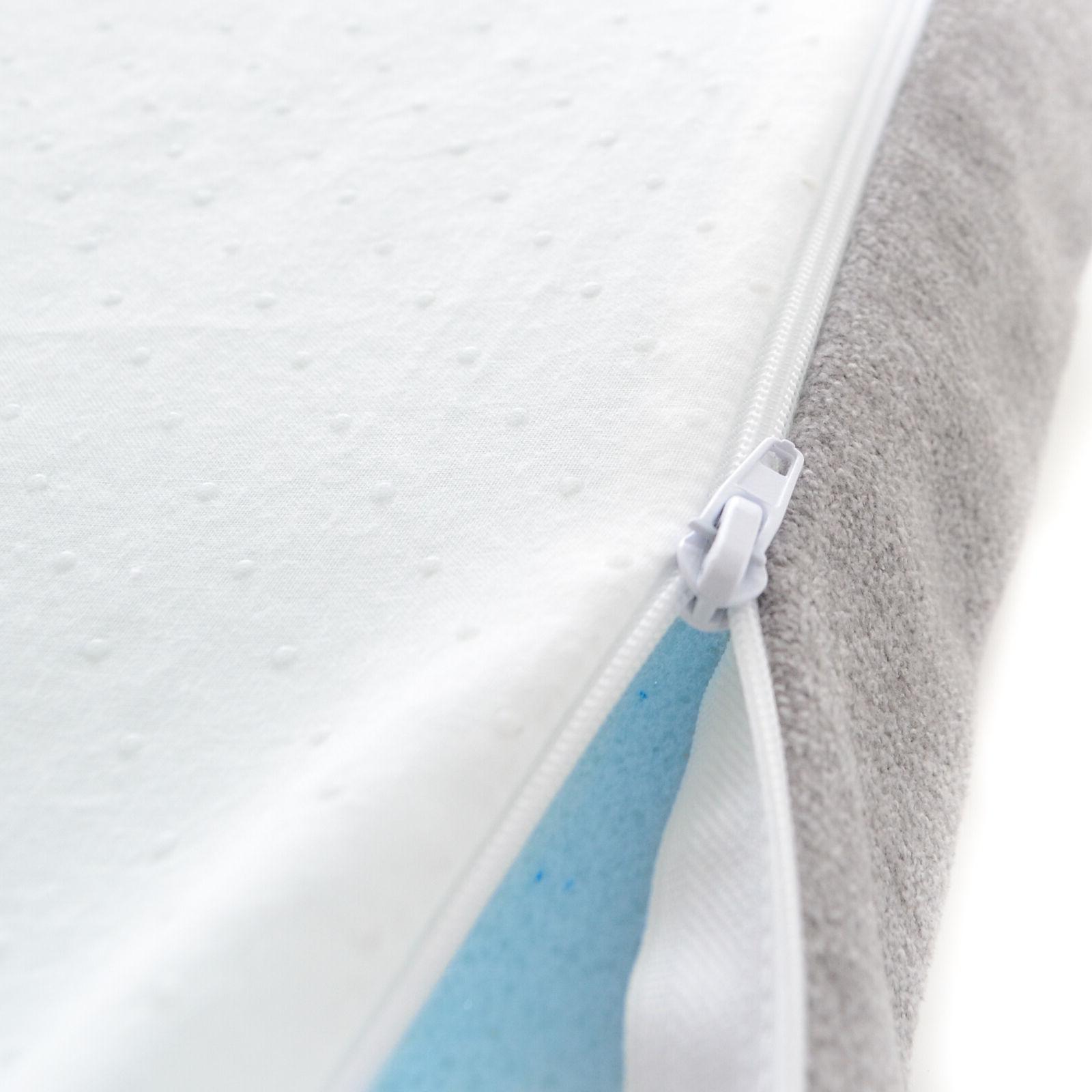 Milliard Memory Foam Topper Washable Removable