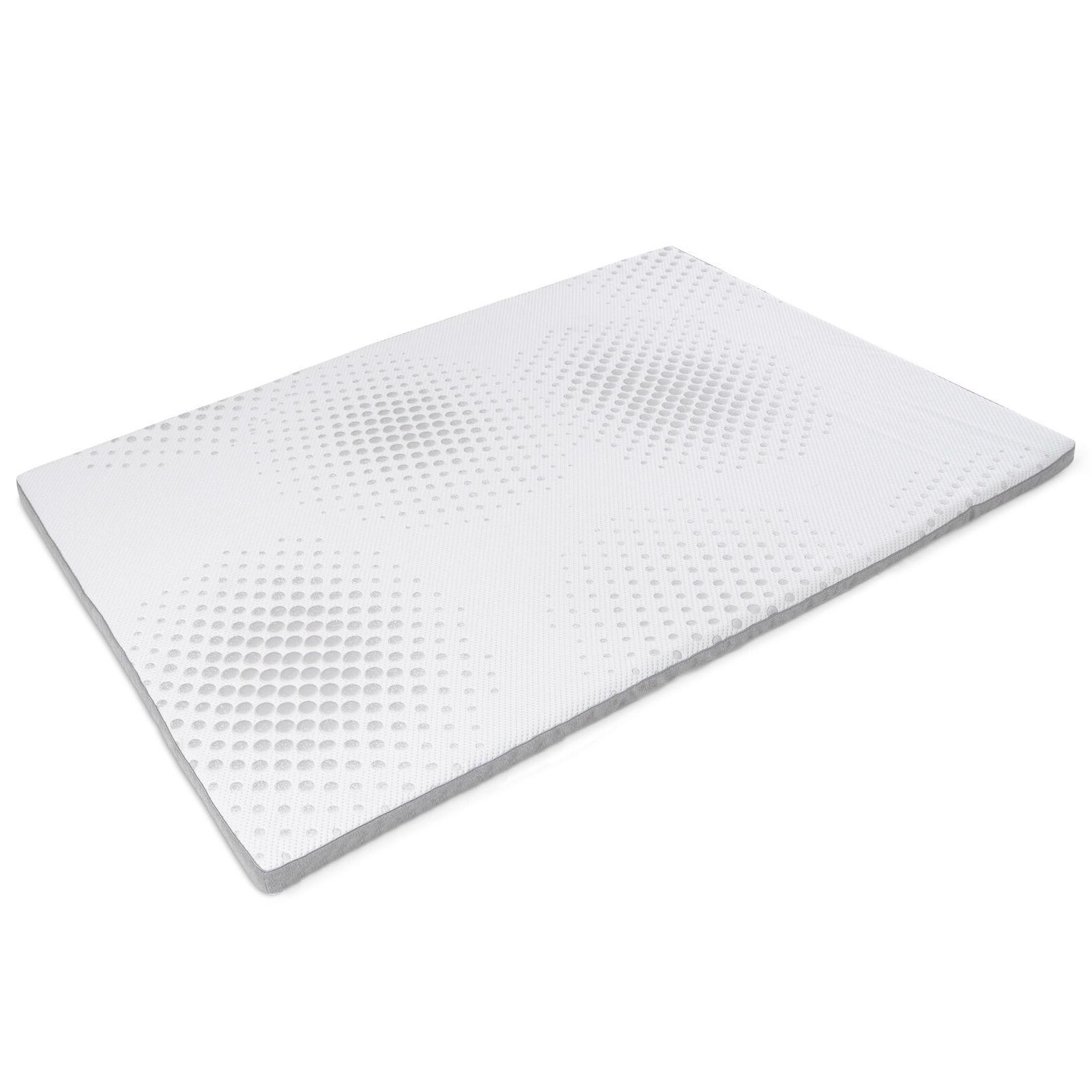 2 inch gel memory foam mattress topper