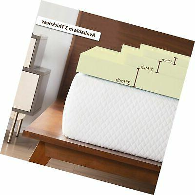 Continental Density Topper,Adds to Mattress,