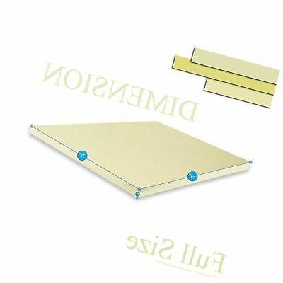Continental Sleep Density Foam Comfort to Mattress, F...