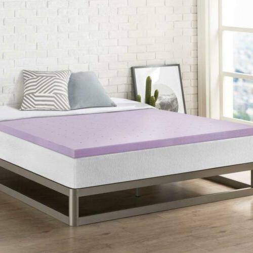 2 inch memory foam bed topper