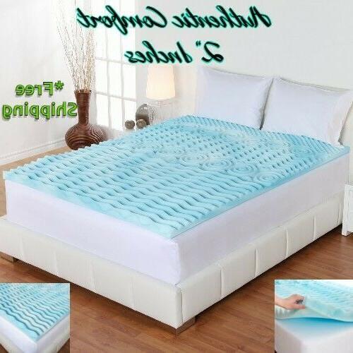 2 inch orthopedic mattress topper memory foam