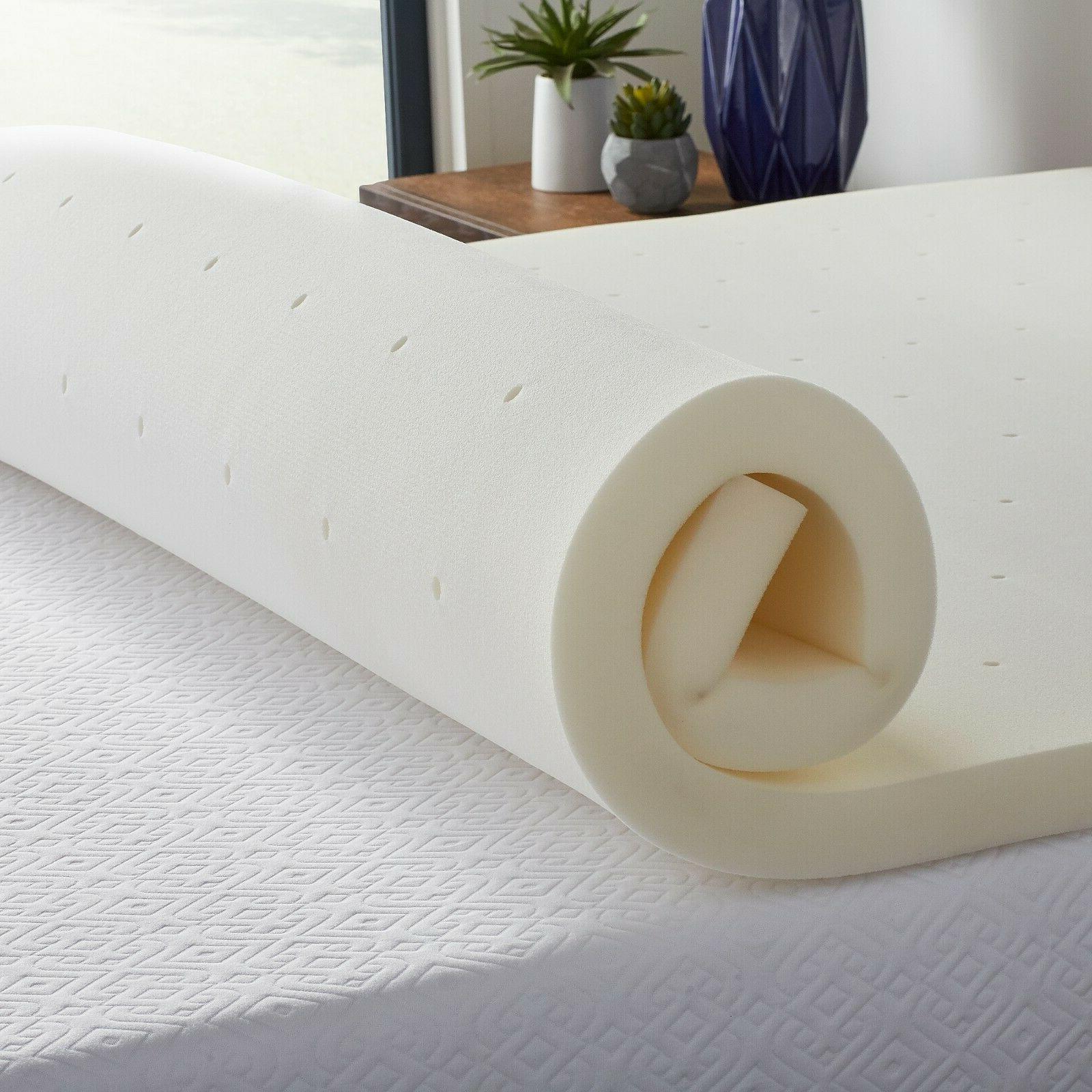 LUCID Ventilated Mattress Topper -