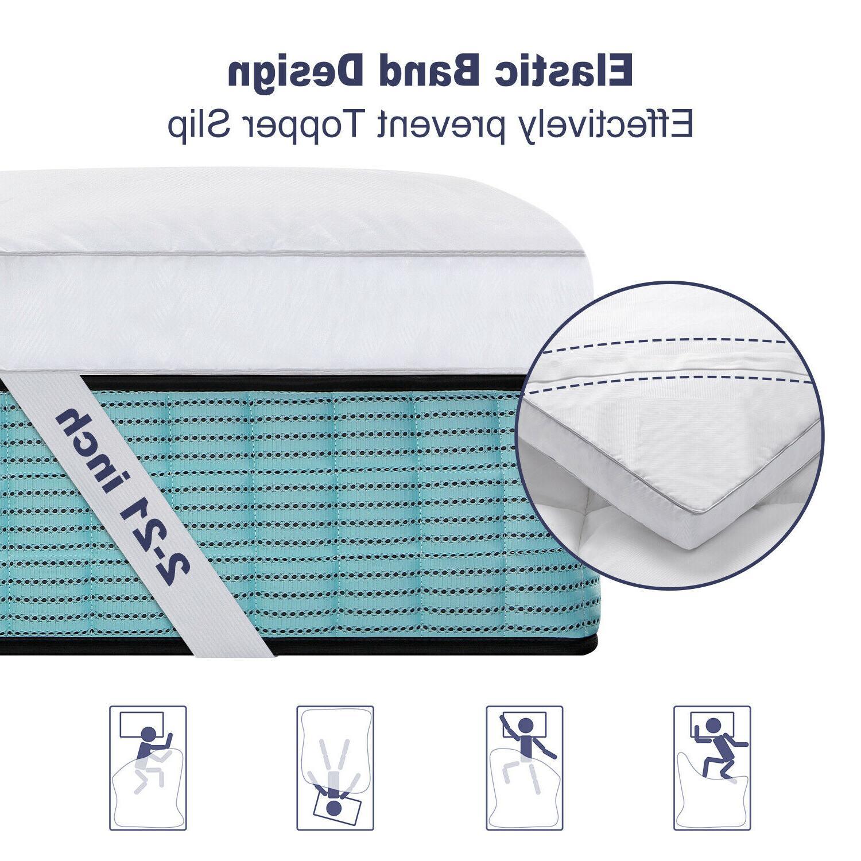 BedStory Mattress Hypoallergenic Twin Queen