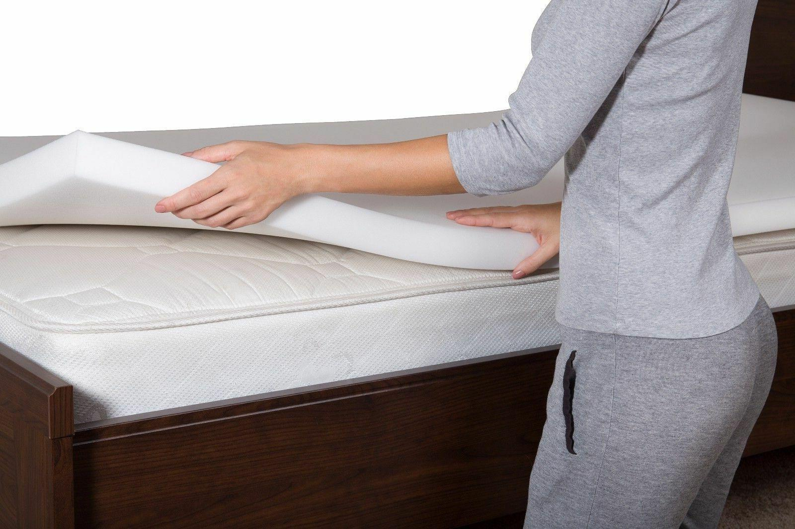 """2"""" Memory Foam Topper Bed by Lucid - All Sizes"""