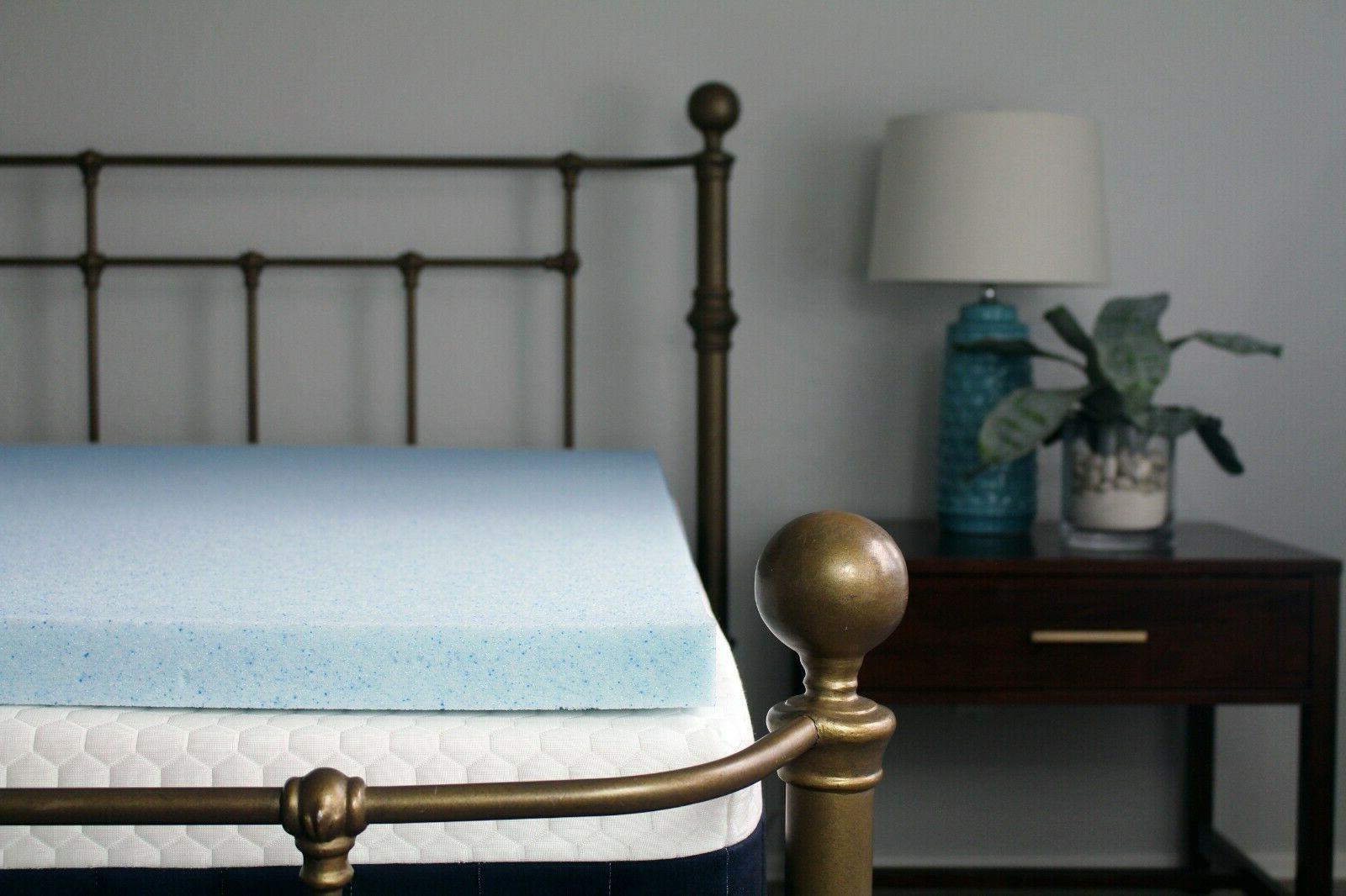 2 or 3 gel memory foam mattress