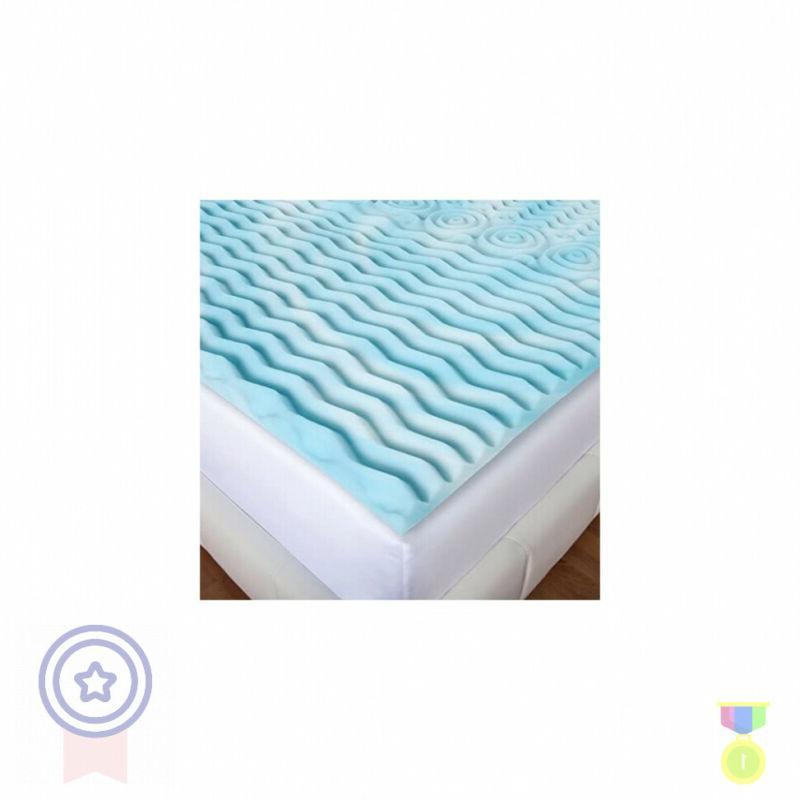 queen size memory foam bed mattress topper