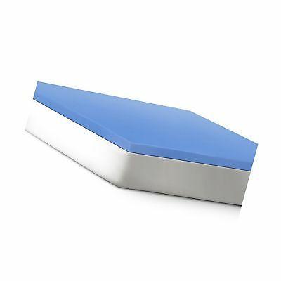 2 support gel infused memory foam mattress