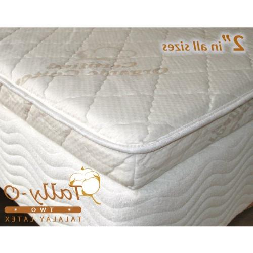 24 ild talalay mattress topper