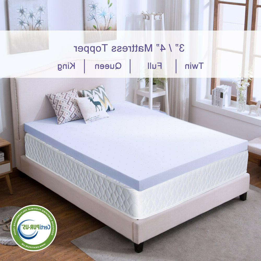 Mattress Topper 4 Foam Cooling Lavender