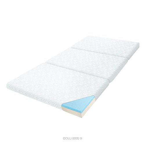 3 folding portable mattress twin