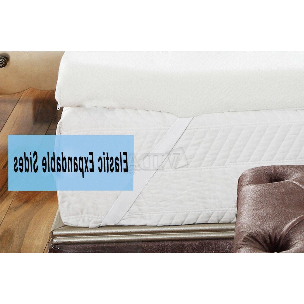 Foam Topper Pad Certipur-US Certified Cover