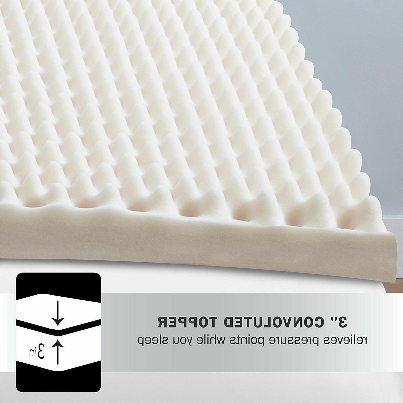 3 in luxury foam mattress topper sleep