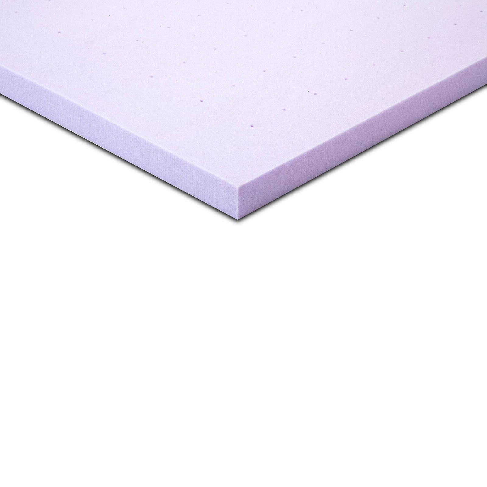 3 Inch California King Gel Memory Topper Lavender