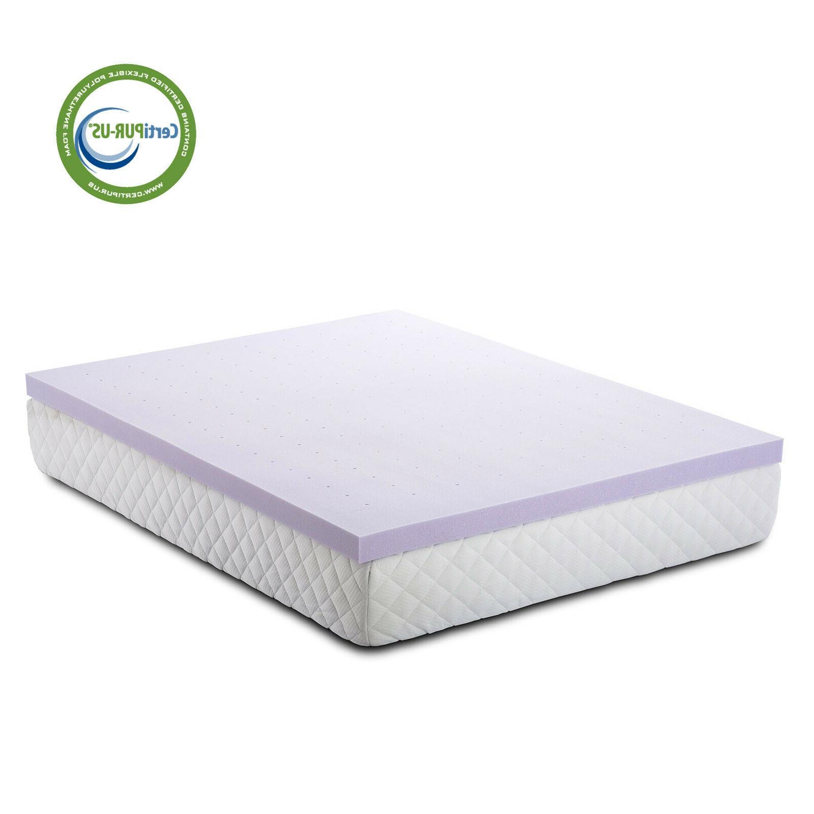 3 Gel Foam Mattress Topper Ventilated