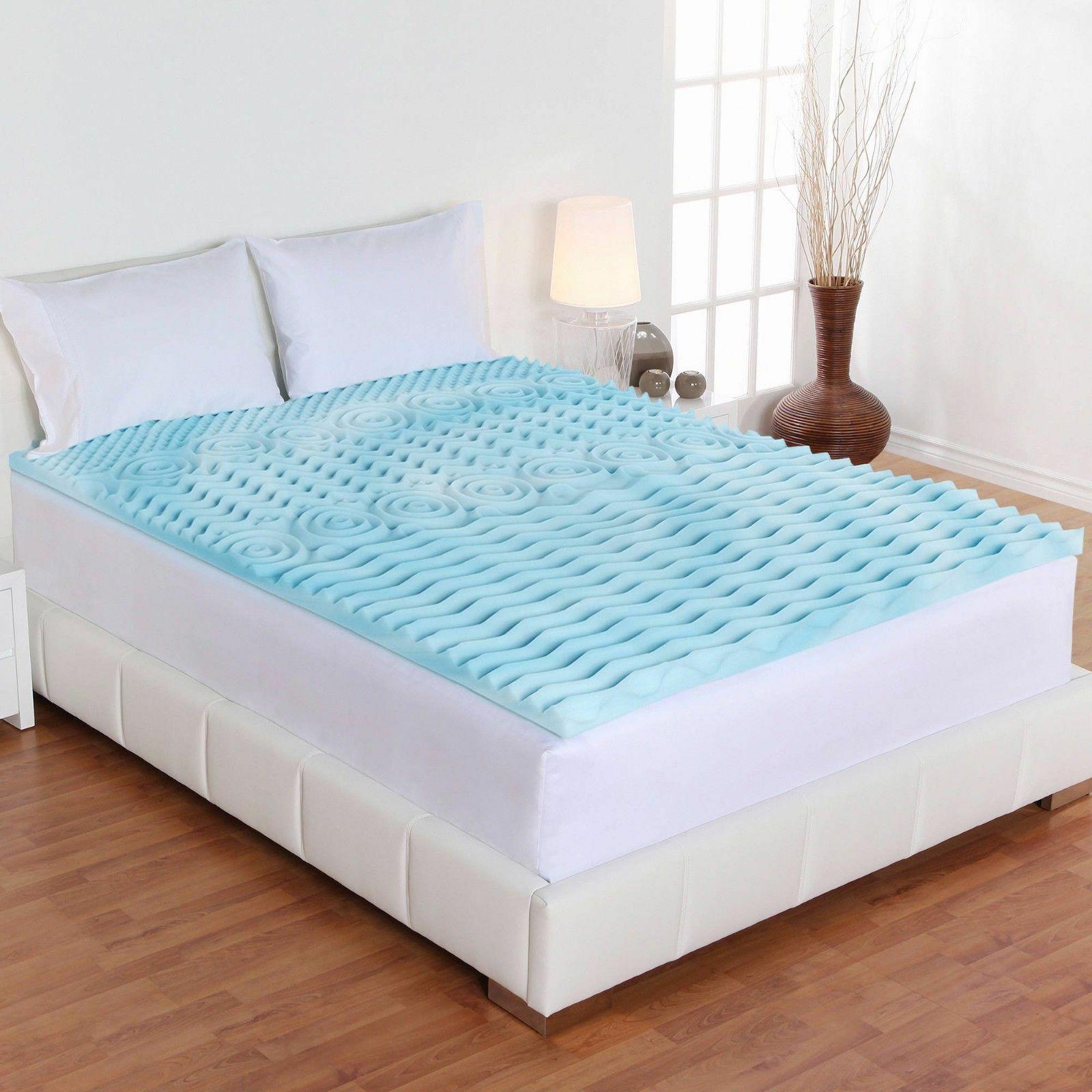 Mattress Topper Foam Bed Cover Firm-Full King