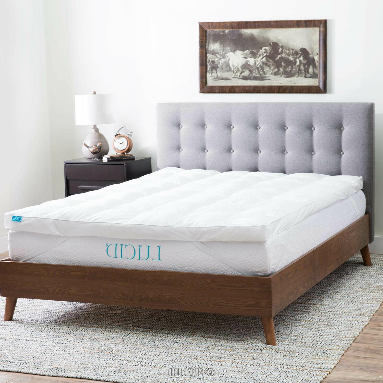 3 inch down alternative fiber bed mattress