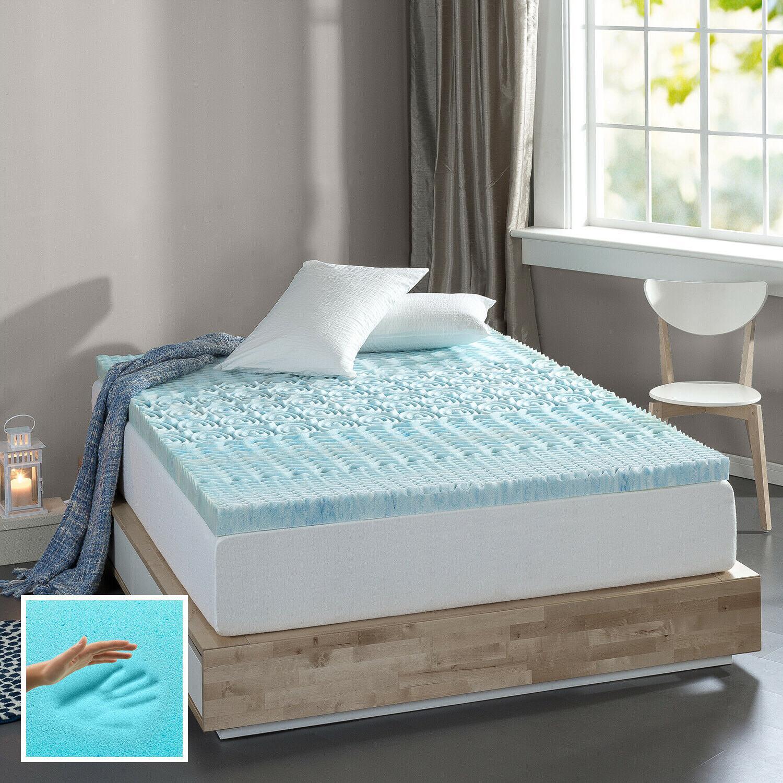 3 inch foam mattress topper pad bed