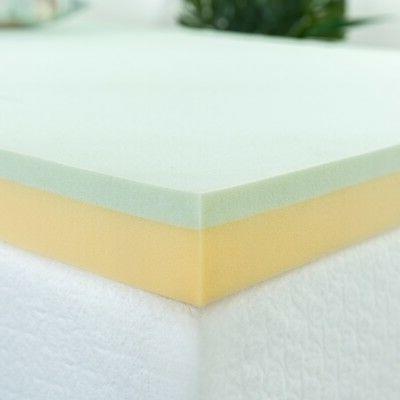 Zinus 3 Tea Memory Foam Mattress Topper, Twin