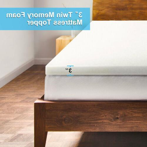 3 inch Memory Mattress Medium-firm Mattress Foam Pad Comfortable