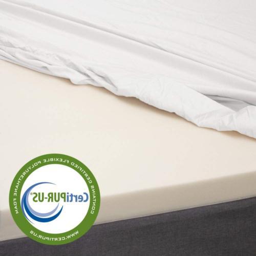 eLuxurySupply 3 Inch Foam Mattress Topper Temperature