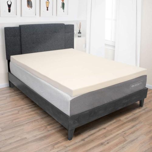 3 inch memory foam mattress topper temperature