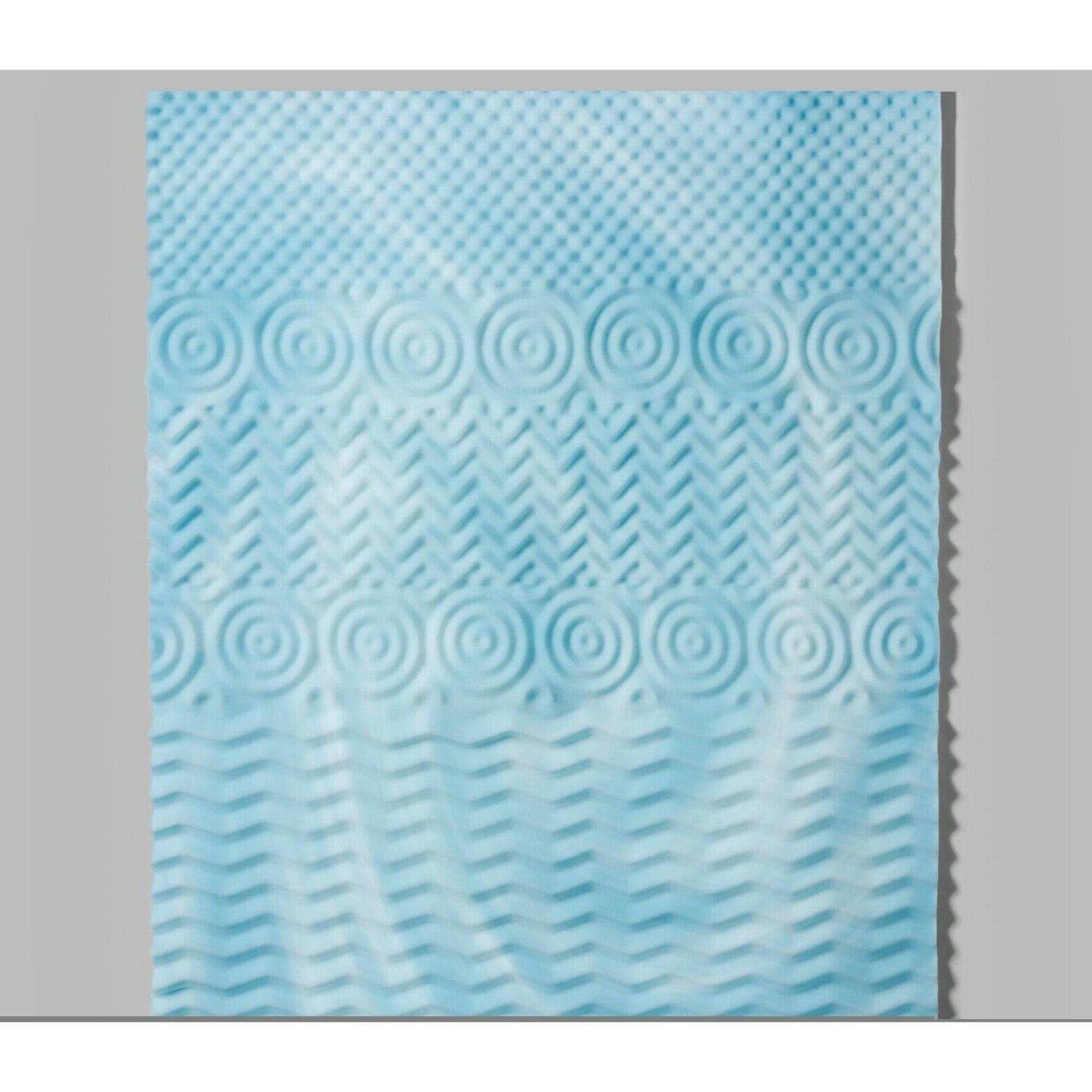 Authentic Comfort Orthopedic 5-Zone Foam Topper