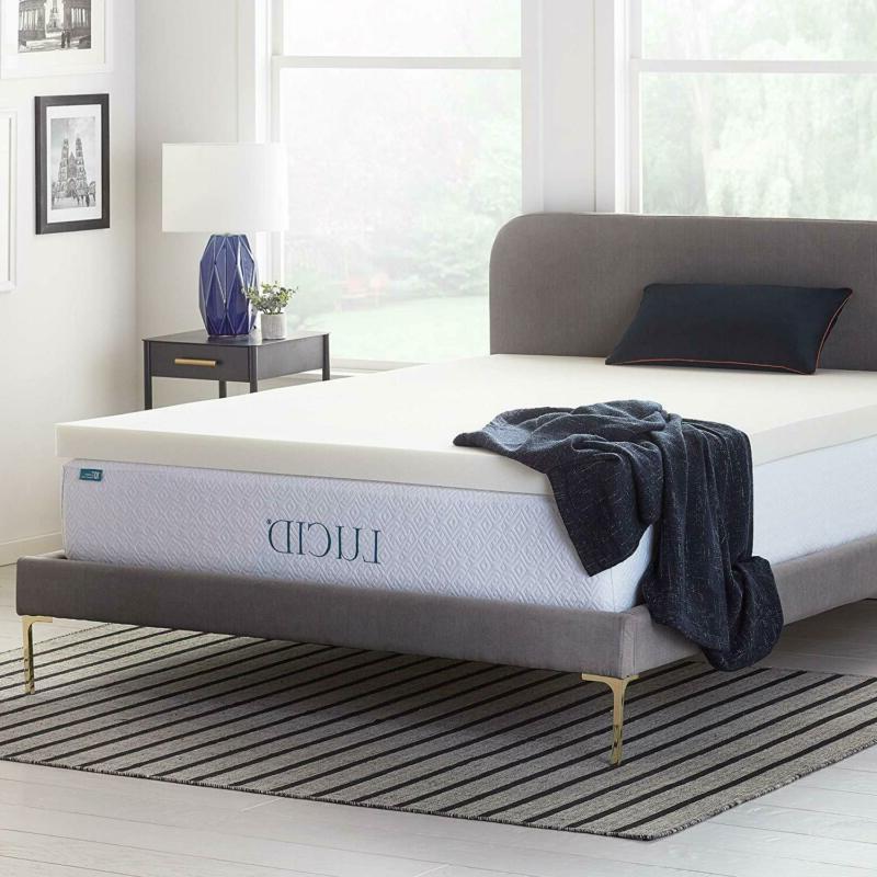 3 inch ventilated memory foam mattress topper